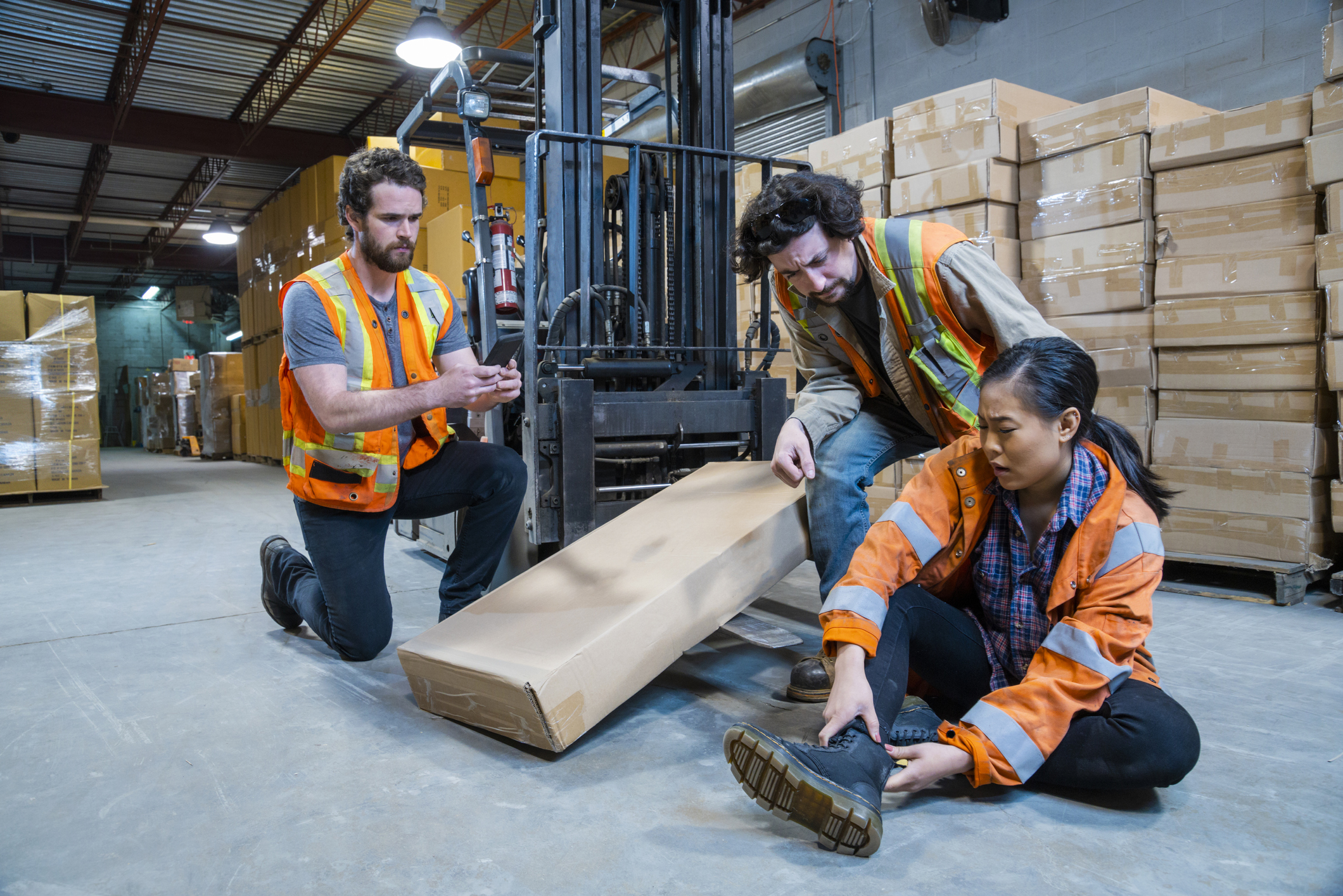 Workers' Compensation Warehouse Injuries in Florida