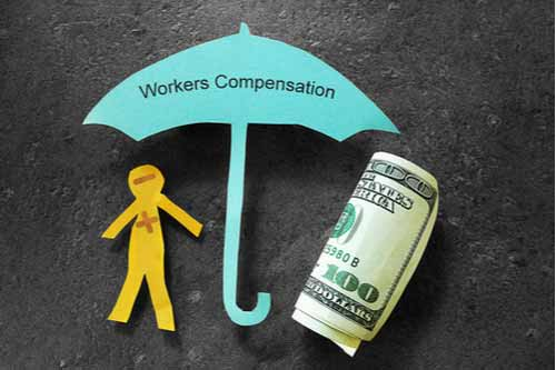 What happens to my workers' compensation benefits if I'm laid off