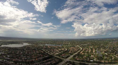 Coral Springs Florida Aerial photo